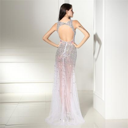 Luxury Beaded Prom Dresses Mermaid ..